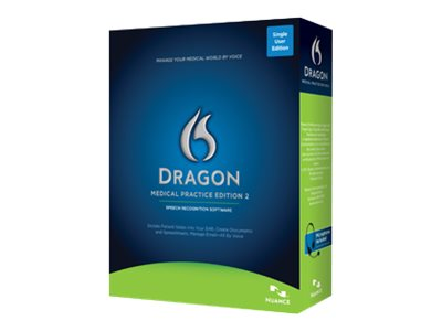 Nuance Dragon Medical Practice Edition 2.0, A709A-X00-2.0, 15917495, Software - Voice Recognition