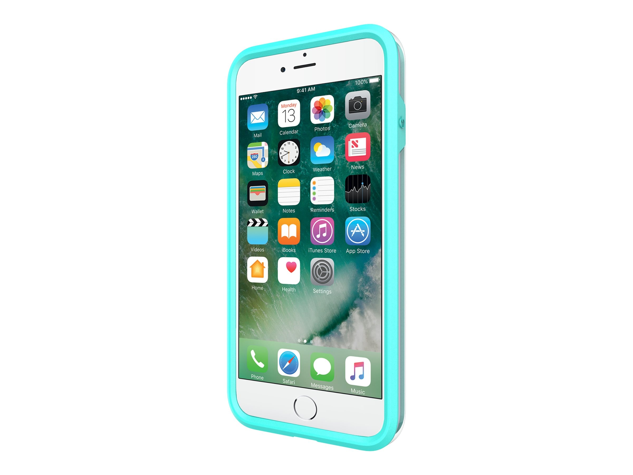 Incipio Performance Series Ultra Case for iPhone 7 Plus, Turquoise Dusty Grape
