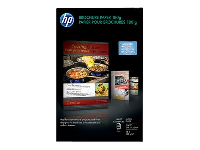 HP 11 x 17 180 gsm Inkjet Glossy Brochure Paper (150 Sheets), CG932A, 11080296, Paper, Labels & Other Print Media