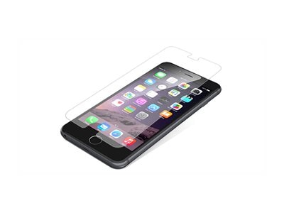 Zagg InvisibleShield Case Friendly Glass Screen Protector for iPhone 6 Plus  iPhone 6S Plus, IPPGLC-F00