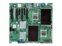 Supermicro Motherboard, SR5690, Dual Opteron 6C 2000, EATX, Max 128GB DDR2, 4PCIEX16, 2PCIEX4, PCI, 2GBE, SATA, MBD-H8DAI+-O, 11228078, Motherboards