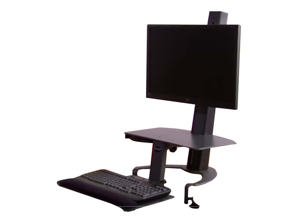 Ergoguys Taskmate Go Dual 6350 Monitor Adjustable Height Work Station, 6350