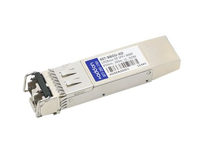 ACP-EP SFP+ 300M SR LC DELL 407-BBOU Compatible TAA 10-GIG SR DOM LC Transceiver, 407-BBOU-AO, 31236711, Network Transceivers