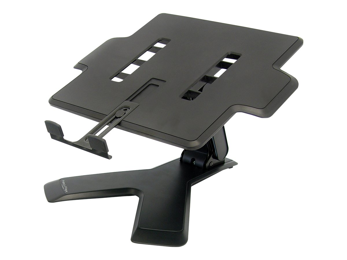 Ergotron Neo-Flex Notebook Lift Stand, Black, 33-334-085, 9281961, Ergonomic Products