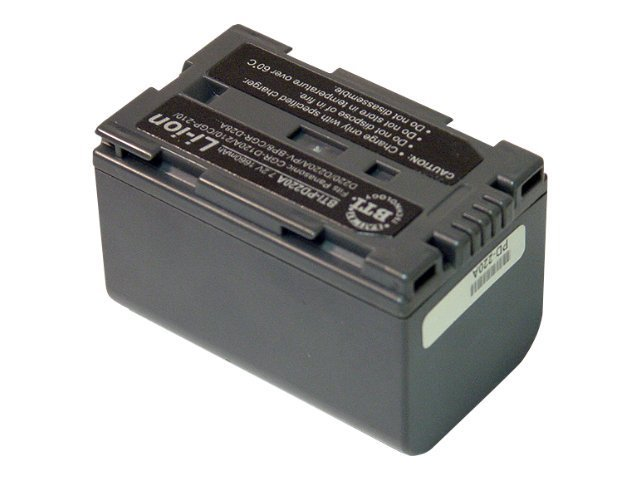 BTI Battery, Lithium-Ion, 7.4V, 2200mAh, for Select Panasonic CGP, CGR, and PV Models, PD220A, 7928493, Batteries - Camera