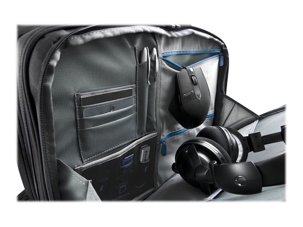 Mobile Edge Alienware Vindicator Briefcase, 14, AWVBC14, 16738384, Carrying Cases - Notebook