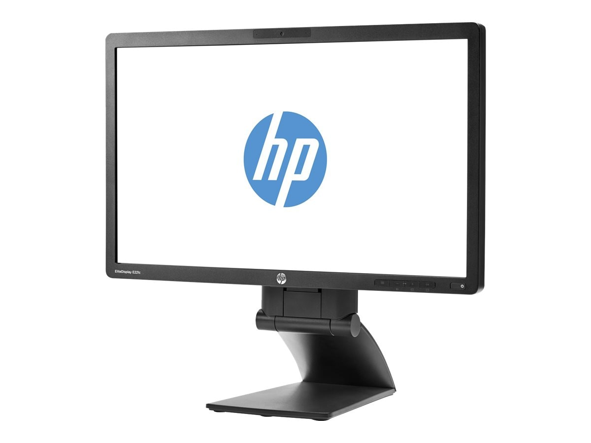 HP Smart Buy 21.5 E221I Full HD LED-LCD Monitor, Black, F9Z09A8#ABA, 17593623, Monitors - LED-LCD
