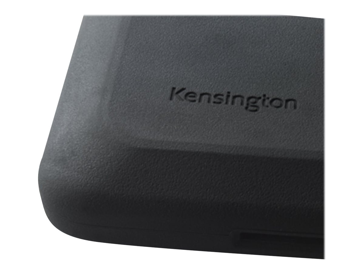 Kensington SecureBack M Series Rugged Case Enclosure for iPad Air, Black, K67829WW