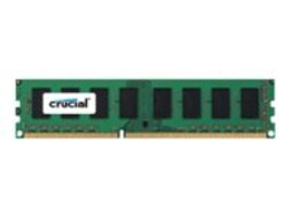 Crucial 8GB PC3L-12800 240-pin DDR3L SDRAM UDIMM, CT102464BD160B, 31721804, Memory