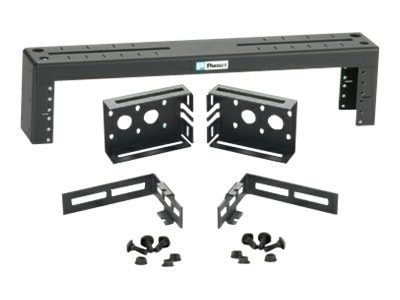 Panduit Ladder Rack Bracket, 2U for Wyr-Grid Overhead Cable Tray, PZLRB2U, 19800981, Rack Cable Management