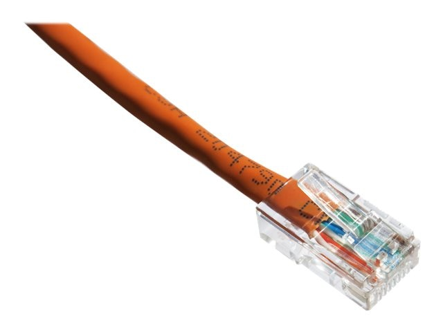 Axiom CAT6 24AWG 550MHz UTP Patch Cable, Orange, 25ft