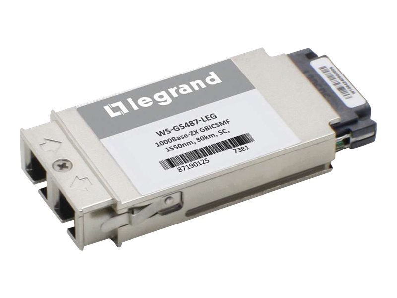 C2G Cisco WS-G5487 Compatible 1000Base-ZX GB Transceiver