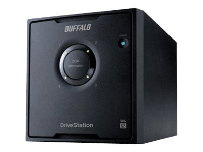BUFFALO 16TB DriveStation Quad USB 3.0 External Hard Drive, HD-QH16TU3R5, 17600512, Hard Drives - External
