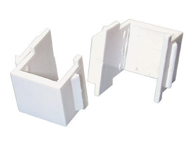 StarTech.com Universal Wall Plate Blank Insert, White, INSERTBLANKW, 13469078, Premise Wiring Equipment