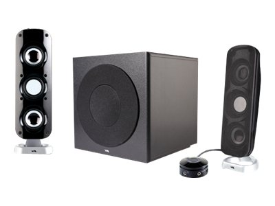Cyber Acoustics CA-3908 Powered Speakers, CA-3908, 14409413, Speakers - PC
