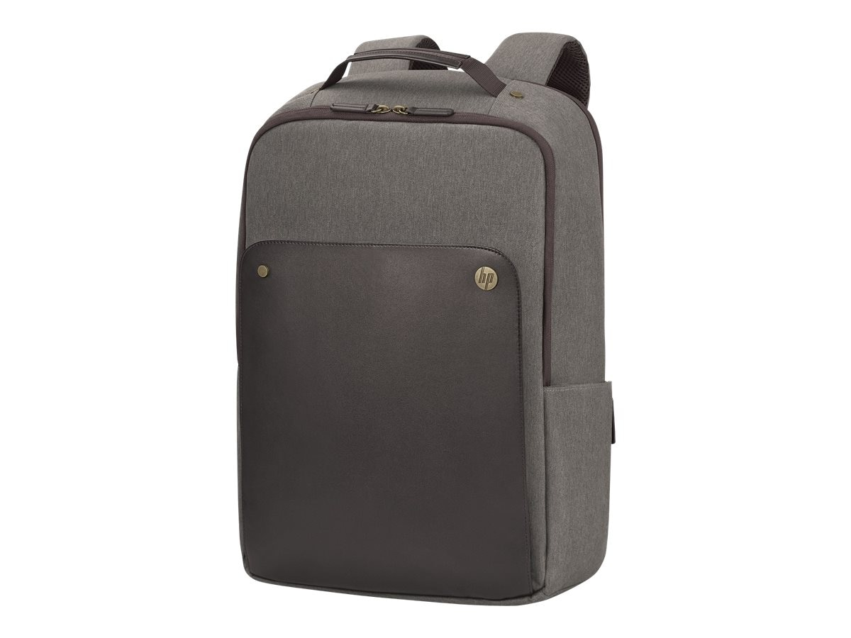HP Executive Backpack 15.6, Brown, P6N22UT, 31842243, Carrying Cases - Notebook
