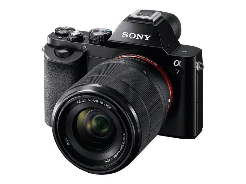 Sony a7 Interchangeable Lens Camera Body Only, ILCE7/B, 16390402, Cameras - Digital - SLR