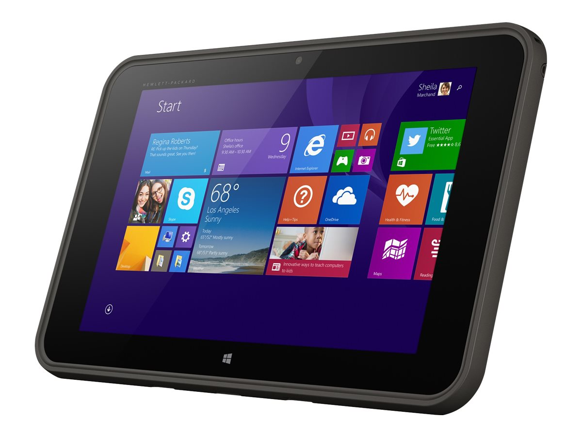 HP Pro Tablet 10 EE G1 1.33GHz processor Windows 8.1 Pro, M5G22UT#ABA, 21085787, Tablets