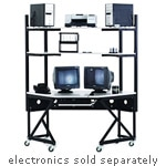 Kendall Howard Performance Corner Work Station, 5000-3-100-CR, 8262777, Computer Carts