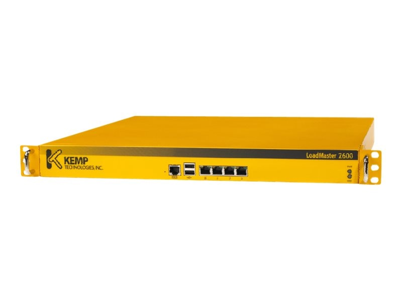 KEMP Loadmaster Load Balancer LM2600 Unit 3Yr Premium Support 24X7, LM3-2600-P