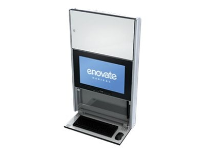 Enovate 550 Lite Wall Station, Ontario White, E550B4-N4W-00OW-0, 15728889, Computer Carts - Medical