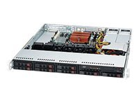 Supermicro 1U standard SC113MTQ Chassis with Redundant 400W PS, CSE-113MTQ-R400CB, 12905270, Cases - Systems/Servers