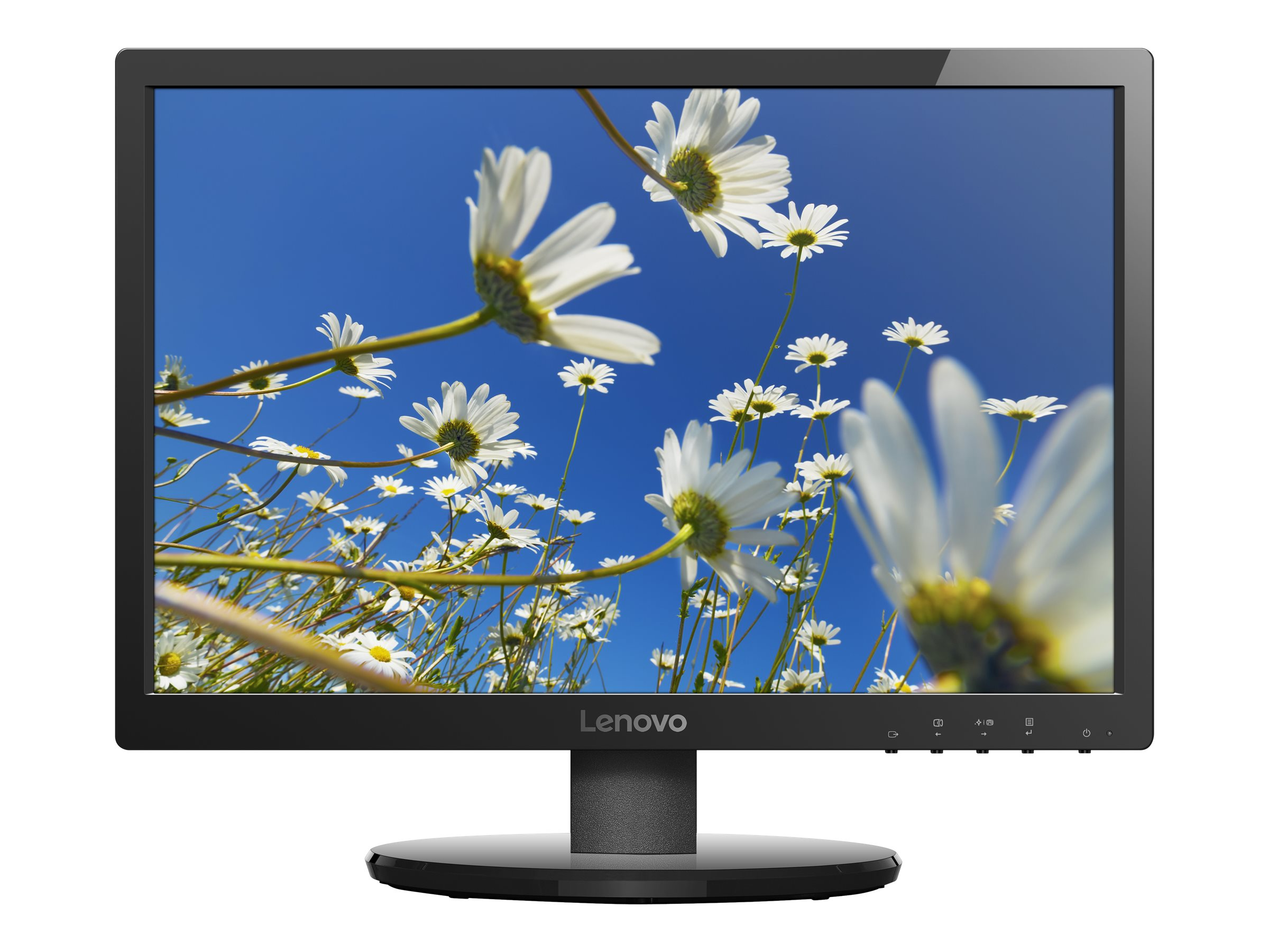 Lenovo 19.5 LI2054 LED-LCD Monitor, Black