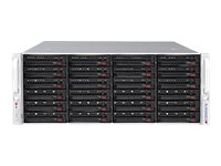 Supermicro Chassis, SuperChassis 846BE2C-R1K28B 4U RM (2x)Intel AMD Family 24x3.5 HS Bays 2x1280W