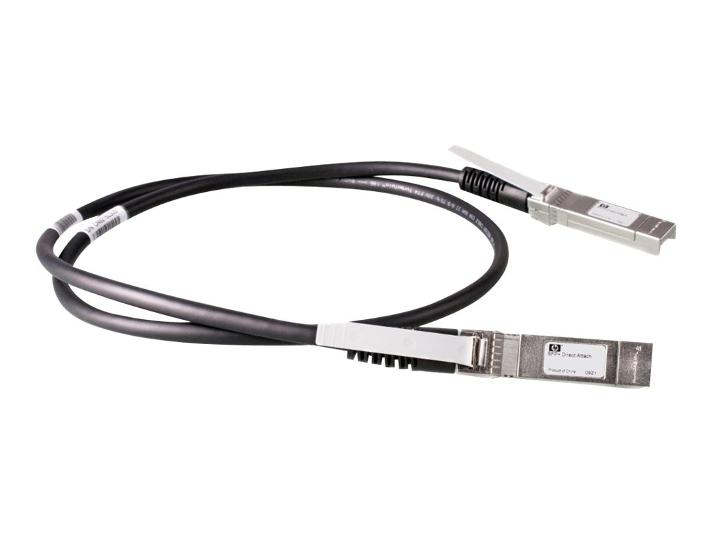 HPE X240 10G SFP+ to SFP+ DA Cable, 1.2m, JD096C, 14487657, Cables
