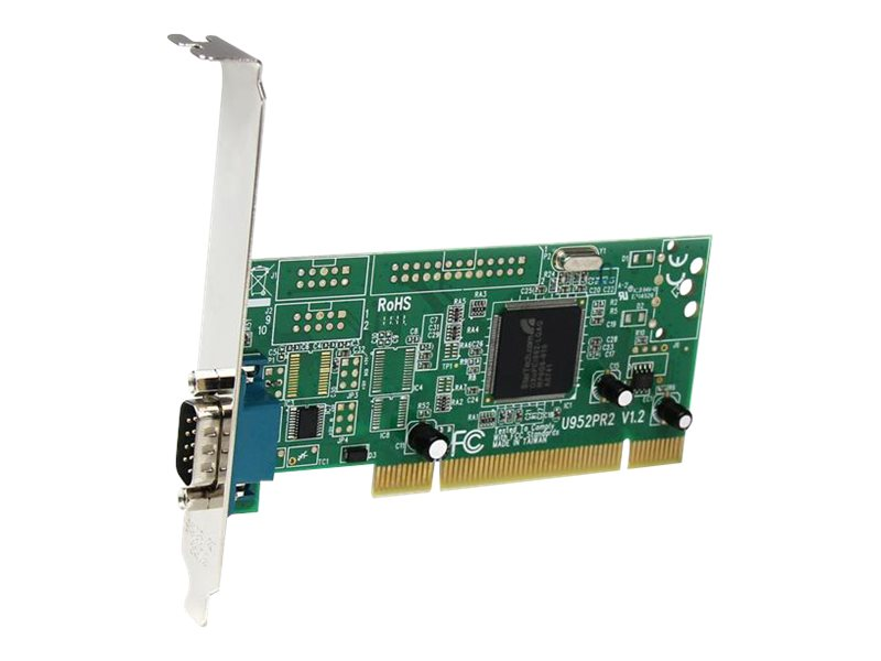 StarTech.com 1-Port PCI 16950 RS-232 Dual Voltage Dual Profile Serial Card, PCI1S950DV, 7417335, Controller Cards & I/O Boards