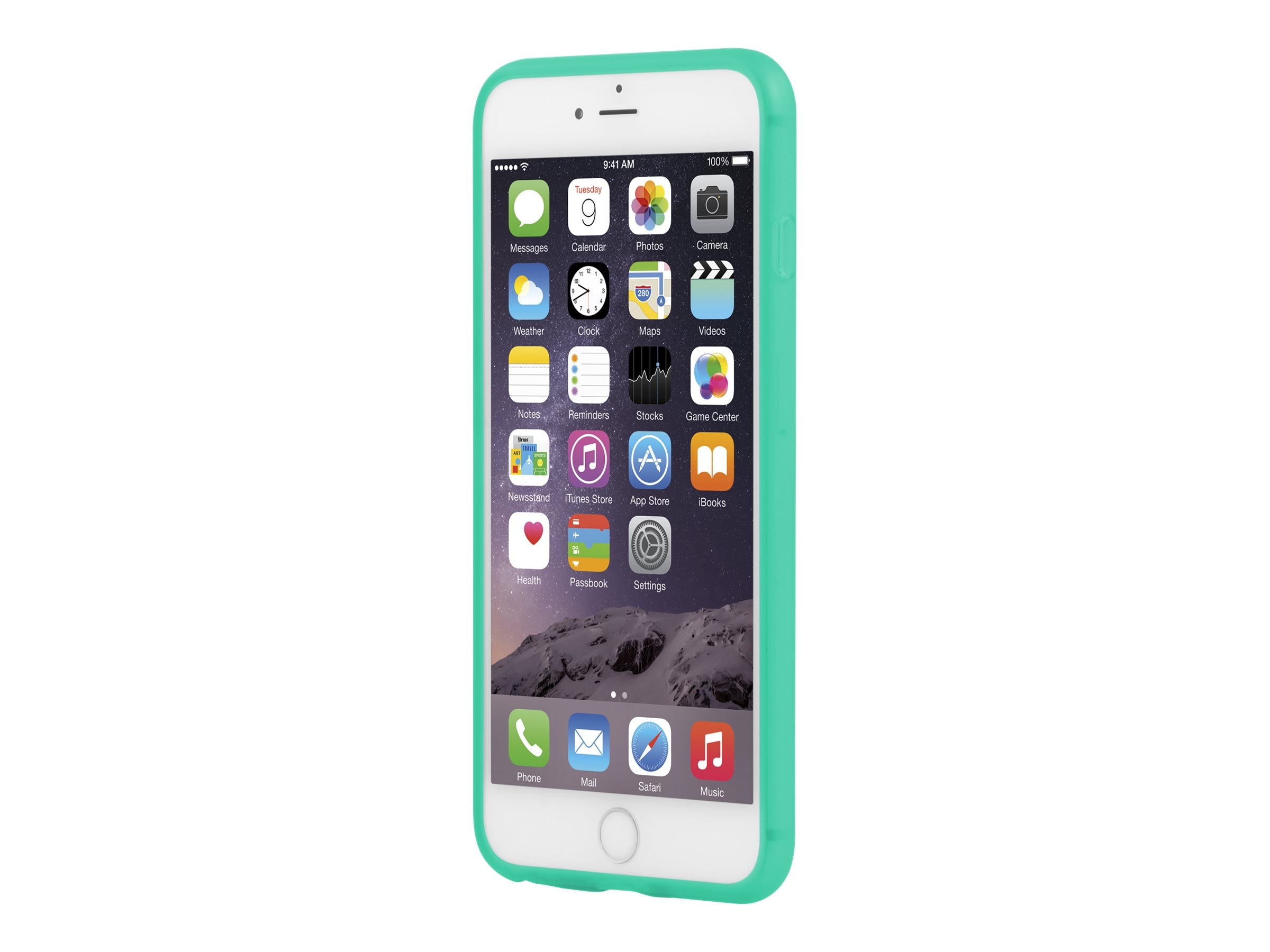 Incipio NGP Flexible Impact-Resistant Case for iPhone 6 6S Plus, Translucent Teal