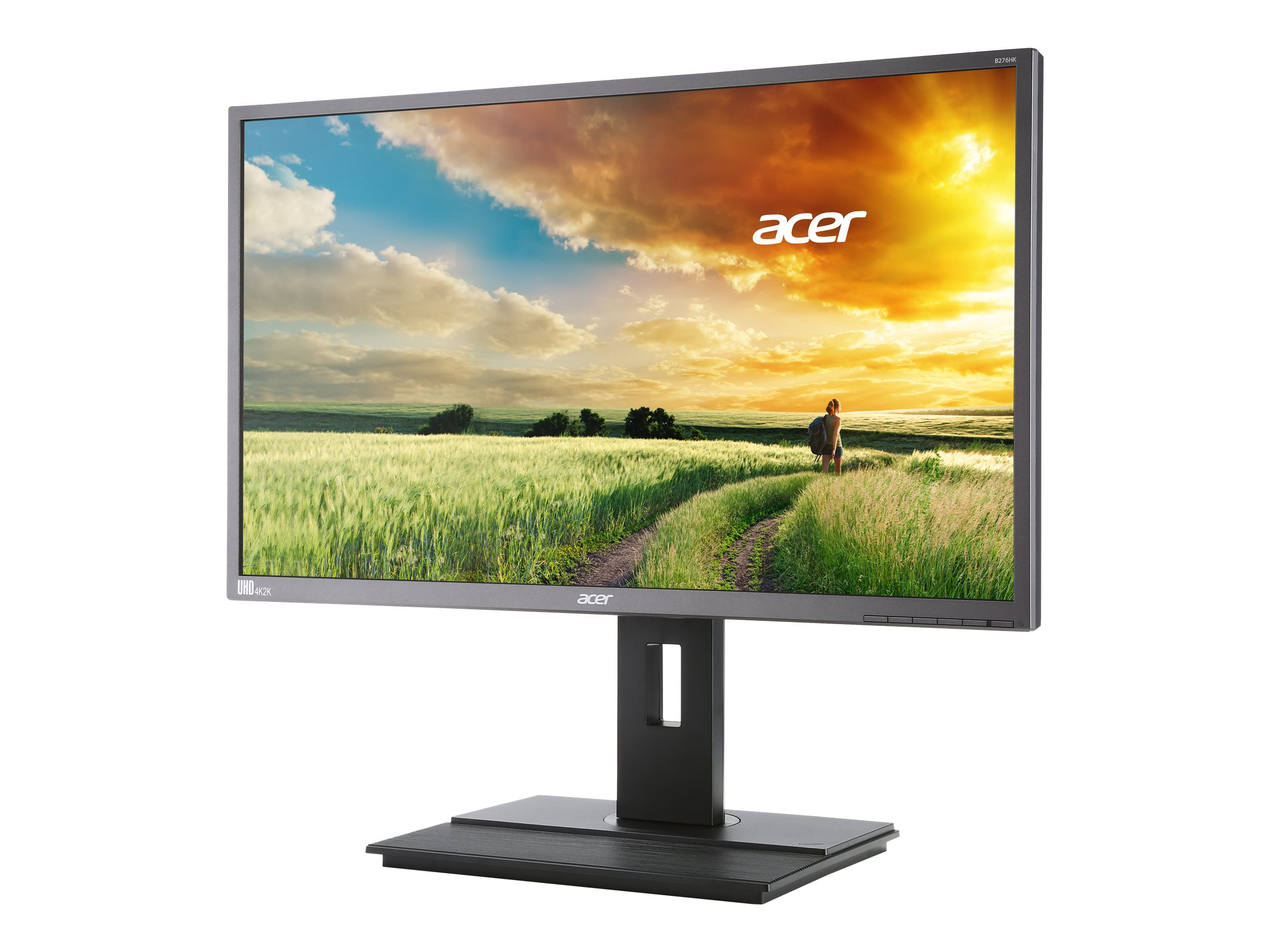 Acer 27 B276HK 4K Ultra HD LED-LCD Monitor, Black, B276HKYMJDPPRZ