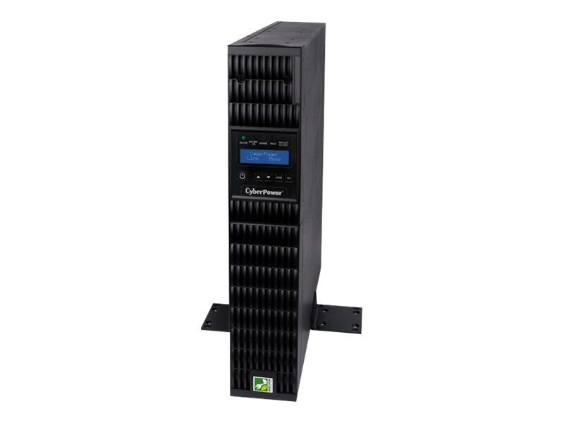 CyberPower Smart App 2200VA Online LCD 2U UPS, OL2200RTXL2U, 14709951, Battery Backup/UPS