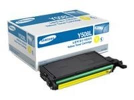 Samsung Yellow High Yield Toner Cartridge for CLP-620, CLP-670, CLX-6220 & CLX-6250 Series, CLT-Y508L, 10826877, Toner and Imaging Components