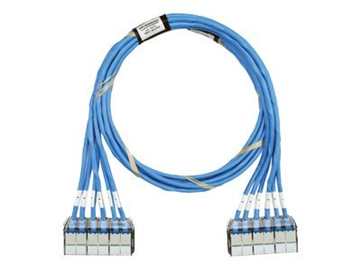 Panduit CAT6E Cassette UTP Patch Cable, Blue, 35ft, QCPBCBCBXX35, 30697881, Cables