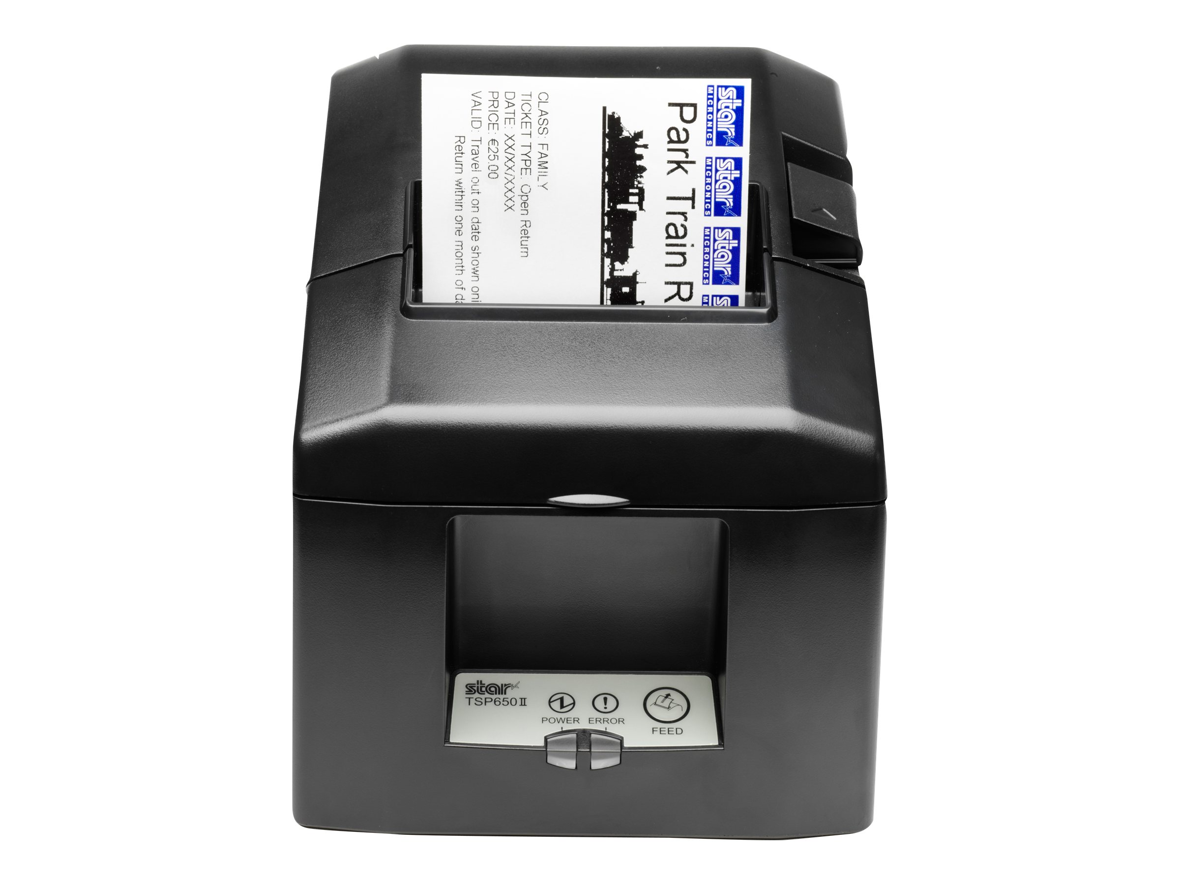 Star Micronics TSP654IIC Parallel Thermal Printer w  Cutter & Power Supply, 39449460