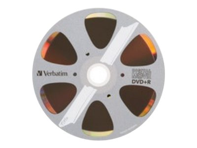 Verbatim 8x 4.7GB DVD+R Media (10-pack Movie Box Retail), 97936, 30905281, DVD Media