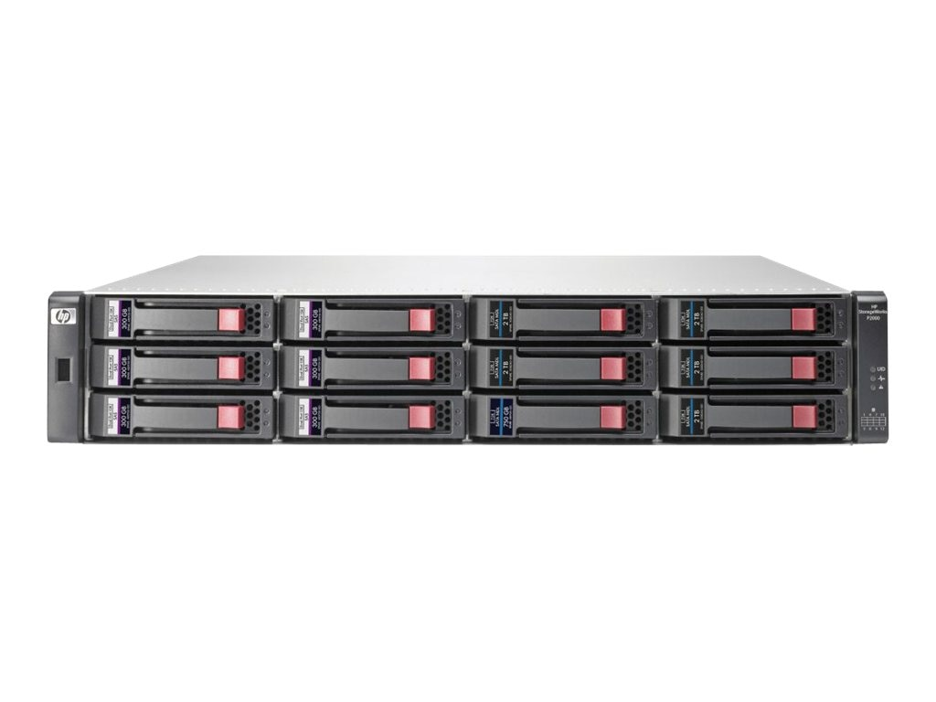 HPE MSA 2040 LFF DC Power Chassis