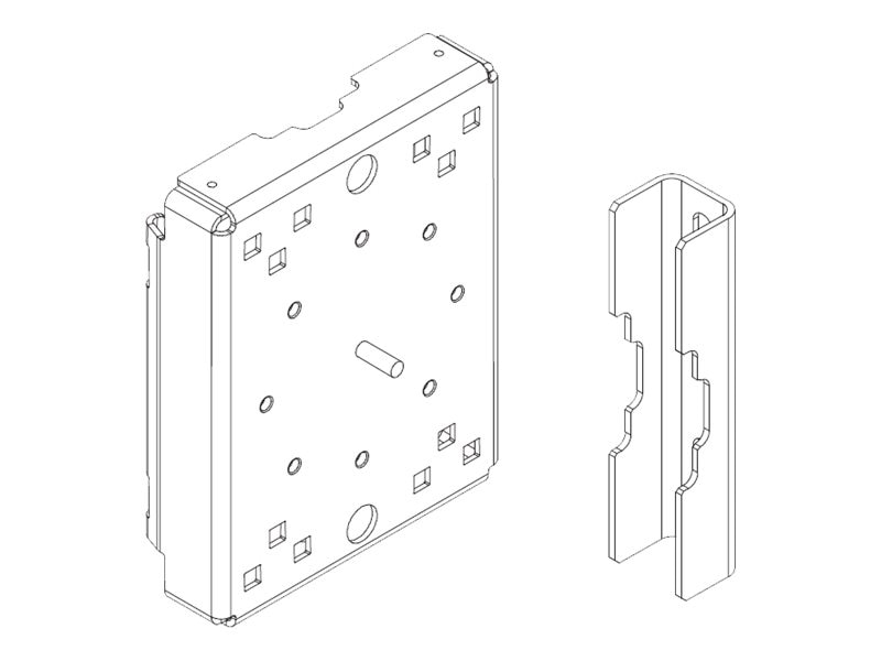 Cisco Pole Mount Kit for 1120, 1240 Connected Grid Router, CGR-PMK1000=, 16132972, Mounting Hardware - Network