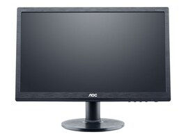 AOC 19.5 E2060SWDA LED-LCD Monitor, Black, E2060SWDA, 16398931, Monitors - LED-LCD