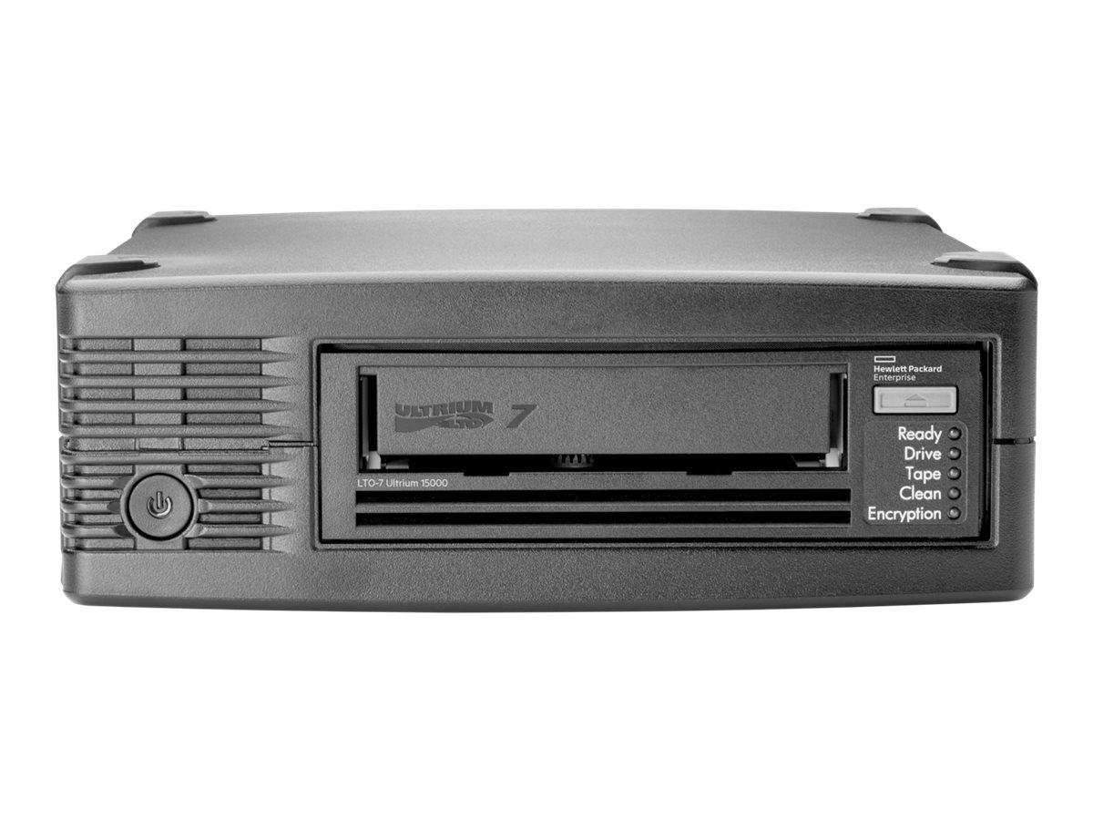 HPE StoreEver LTO-7 Ultrium 15000 External Tape Drive, BB874A