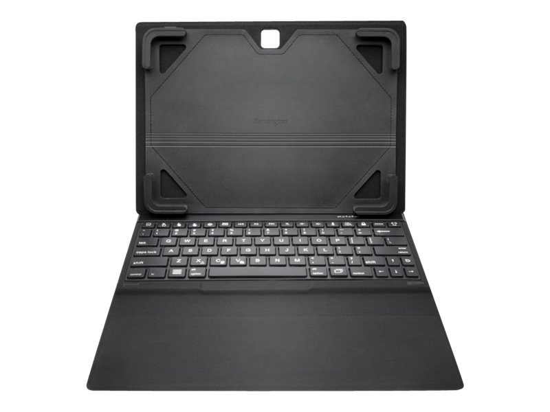 Kensington KeyFolio Fit for Galaxy Tab 4, Black, K97317US, 18542570, Keyboards & Keypads