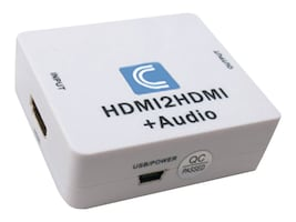 Comprehensive HDMI Audio De-Embedder with HDMI passthru, CP-HDA2N, 17927275, Adapters & Port Converters