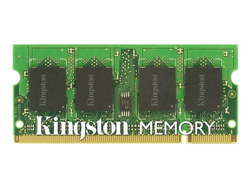 Kingston 2GB PC2-6400 200-pin DDR2 SDRAM SODIMM for Select HP Models, KTH-ZD8000C6/2G, 8615536, Memory