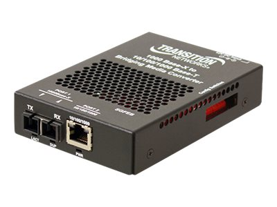 Transition 10 100 1000B-T TO 1000BASE-X SM SC 10K, SGFEB1014-130-EU, 18370499, Network Transceivers
