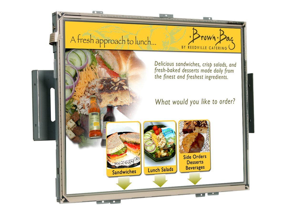 Planar 17 LA1710RTS Open Frame LCD Touchmonitor, SAW, USB Serial, 997-6292-00LF, 12470481, Monitors - LCD