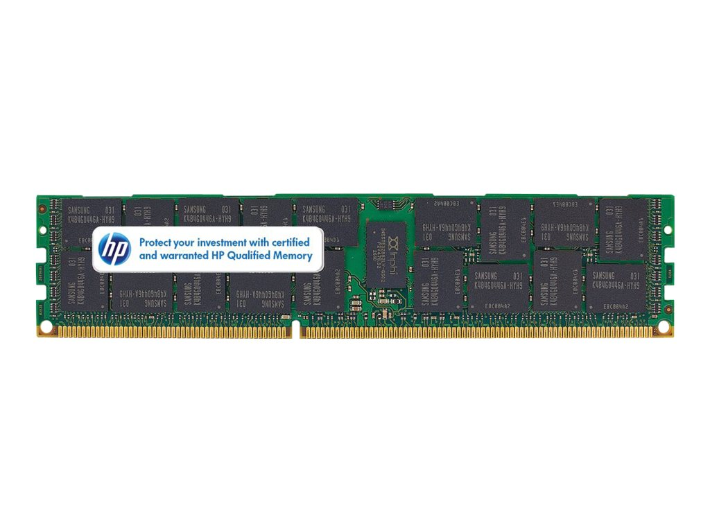 Open Box HPE 8GB PC3-10600 240-pin DDR3 SDRAM DIMM Kit, 604506-B21, 31711534, Memory