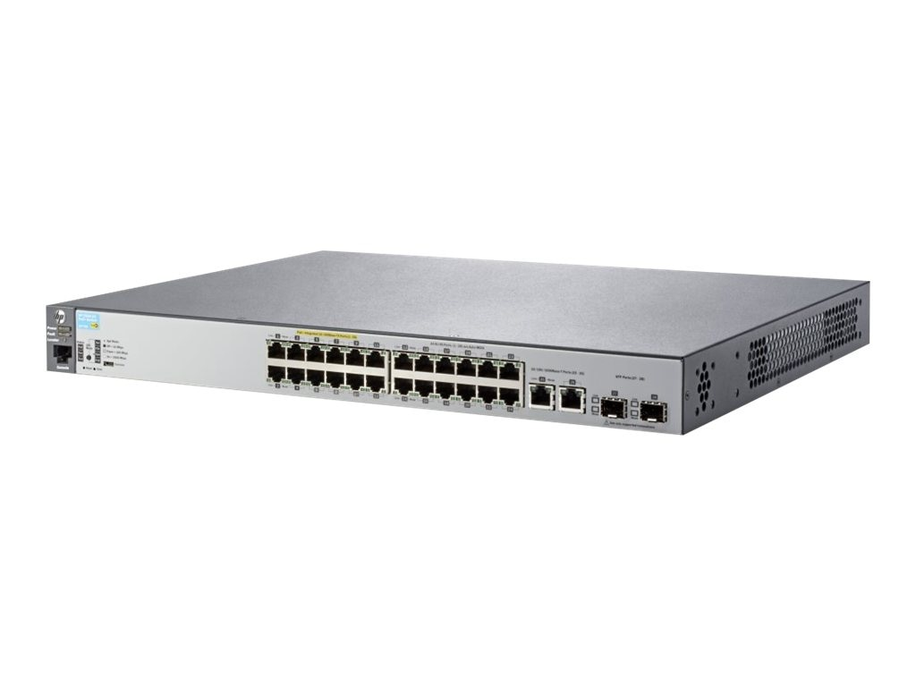 HPE 2530-24-POE+   Switch, J9779A#ABA, 15779985, Network Switches