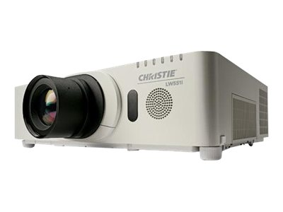 Christie LW551I WUXGA 3LCD Projector, 5500 Lumens, White