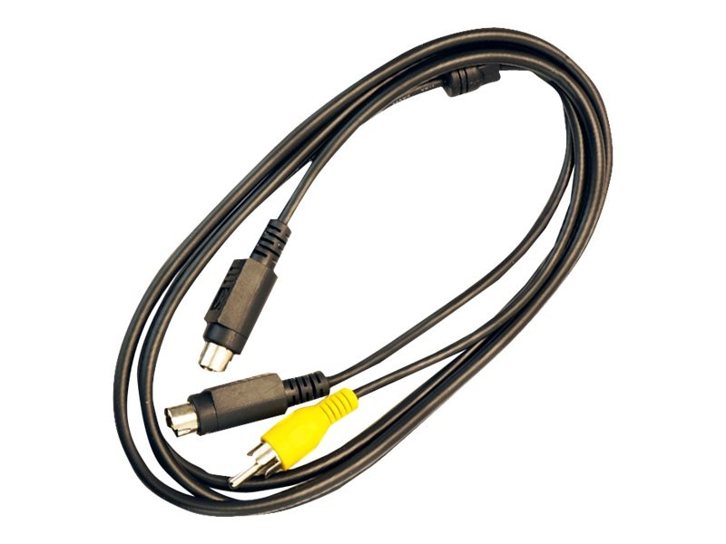 VisionTek S-Video Composite Video Cable, 6ft